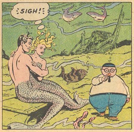 Mermaid sighs