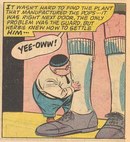 Herbie uses a bite judiciously