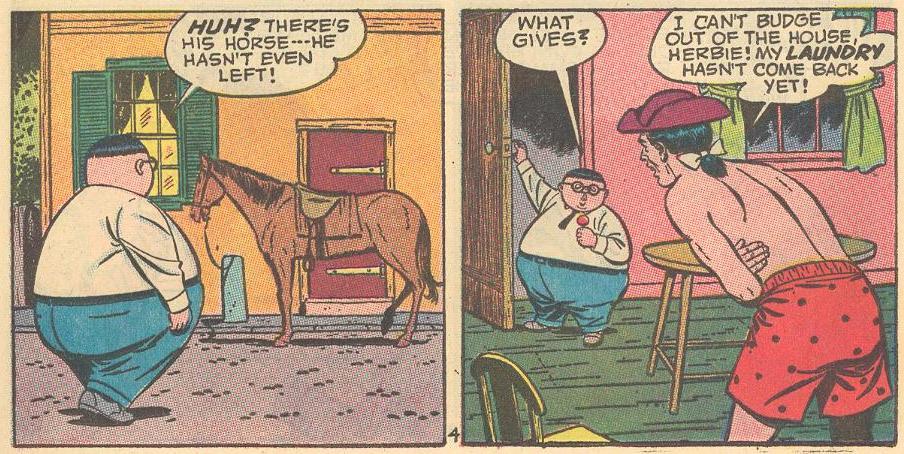 In #8b , Paul Revere is in need of Herbie.