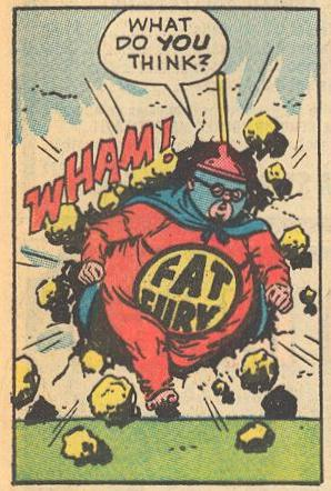 Prime Example : ...Herbie -- er, Fat Fury -- breaks out of jail.