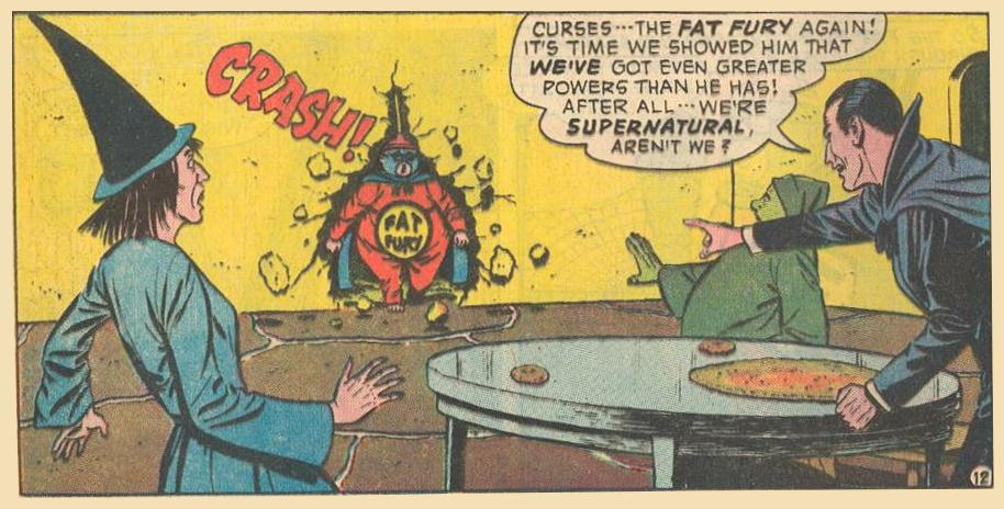 In #20a , Fat Fury breaks through.