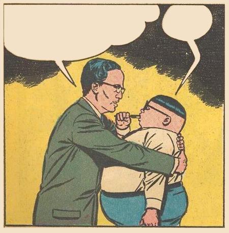 UN Secretary General U Thant hugs Herbie Original Caption HERBIE POPNECKER...GREETINGS!