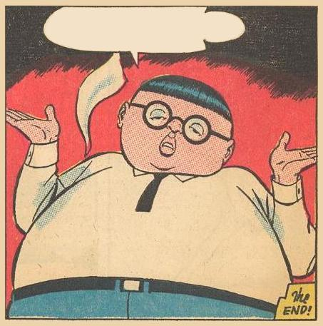 Herbie shrugs .