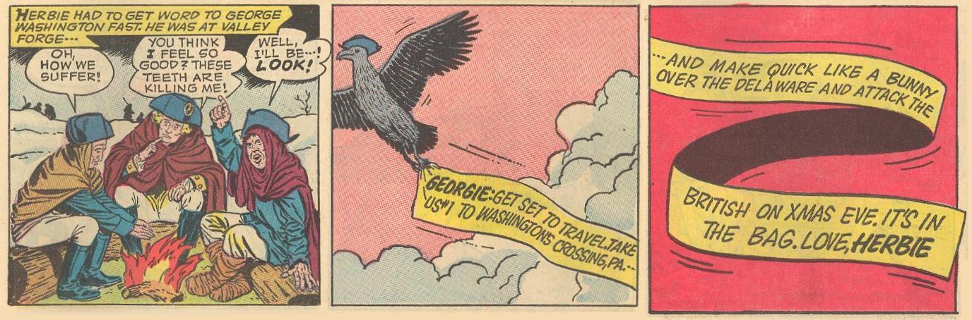 Herbie sends a sky banner.