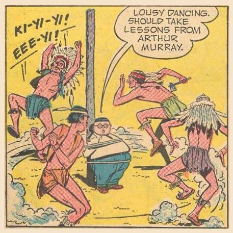 """Lousy dancing."""