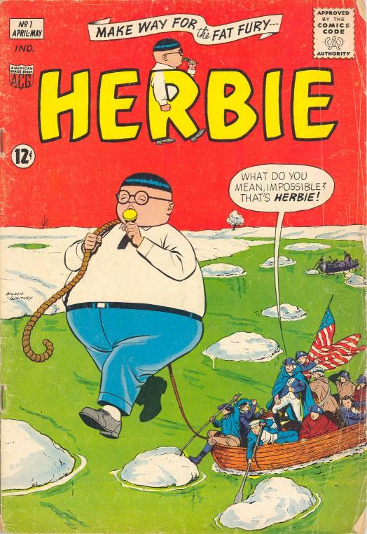 Herbie Popnecker examples: Comic Cover Pages