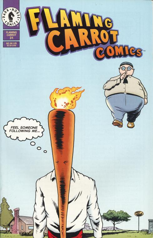 Flaming Carrot #31