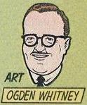 A self-portrait of Ogden Whitney in Unknown Worlds #4 .