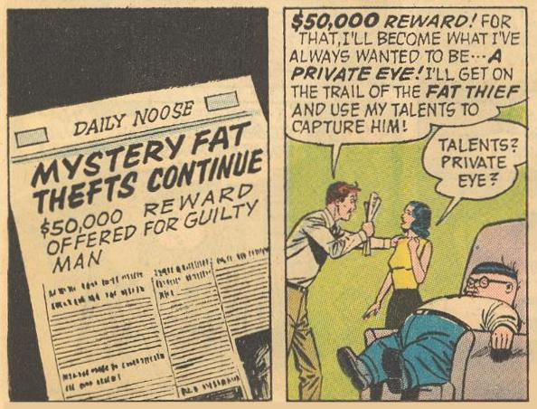 In #12b , Dad decides he would be a great private eye, although Mom is skeptical , ...