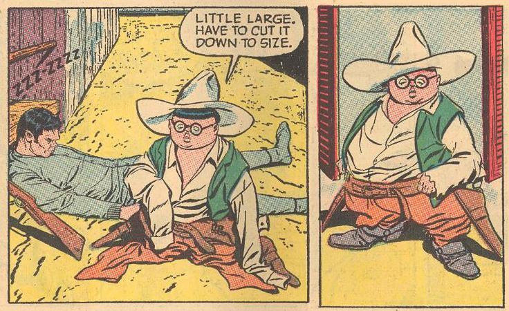 In #4a , we can see it might be hard for Herbie to get clothes that fit.