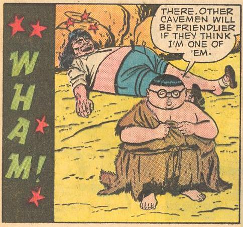 In #6a , Herbie gets into disguise to blend in.