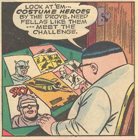 In #8a , we see the motivation for Herbie's creation of the Fat Fury.