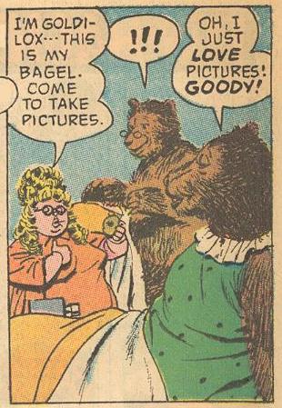 Now he's Goldilocks.