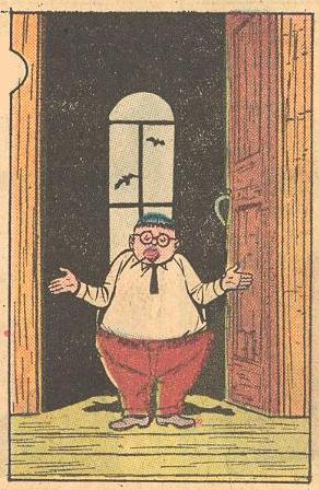 In Forbidden Worlds #94 , Herbie wore non-blue slacks for the first and only time.