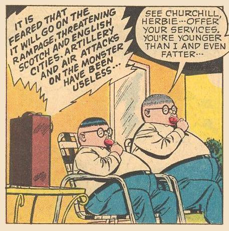 """See Churchill Herbie..."