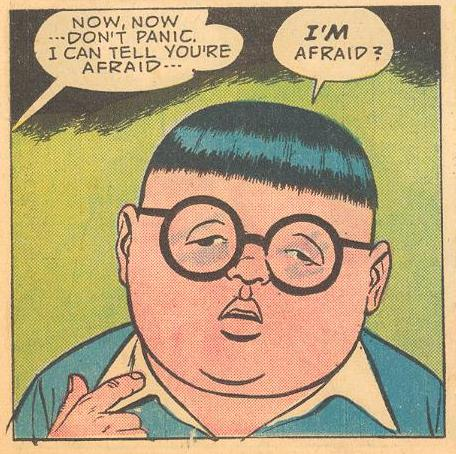 By the end of his Forbidden Worlds appearances ( #116 ), Herbie had lost apparent emotion.