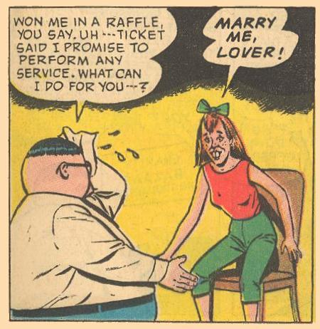 Herbie can get flustered in matters of love.