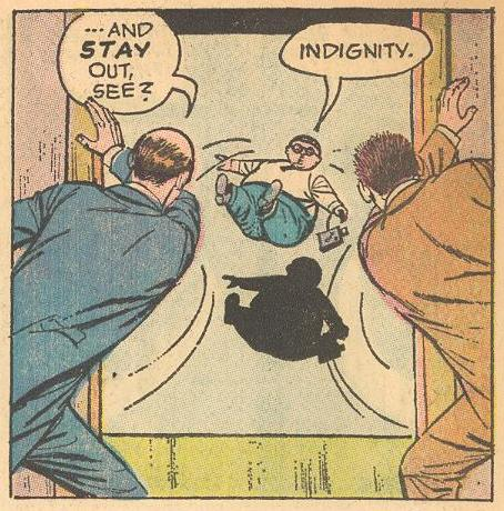More indignation from Herbie in the final issue (maybe a metaphor for the demise of the series)