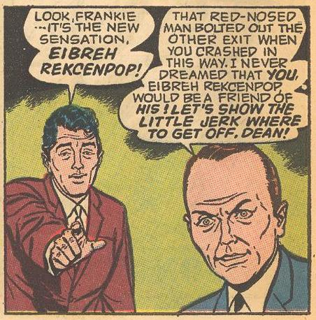 Dean and Frank only know from Herbie's pseudonym.