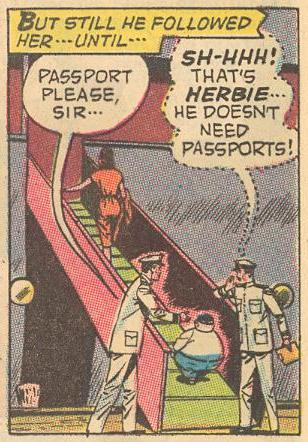 Herbie doesn't need passports.