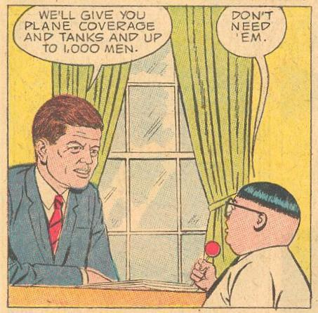 Published September 1963, Herbie is recruited by JFK.