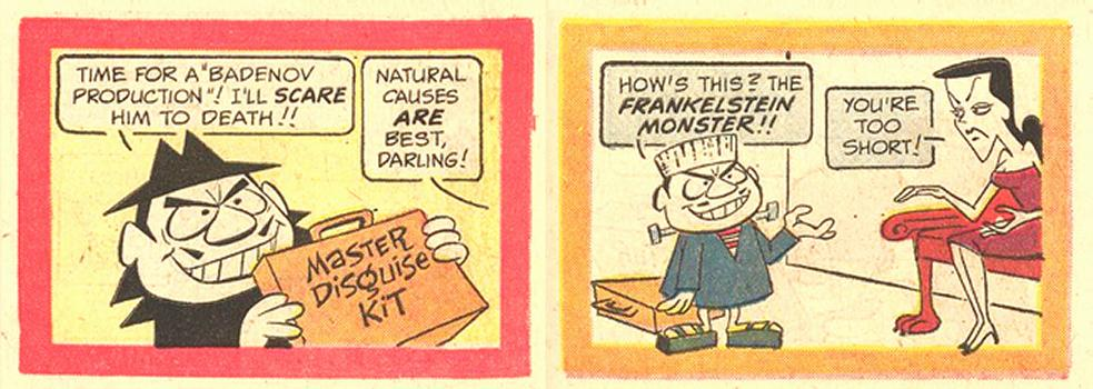 Master Disguise Kit - Frankelstein Monster!!