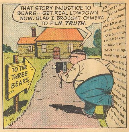 Herbie promises to restore the good name of bears , but...