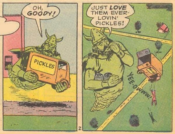 ...who loves pickles?