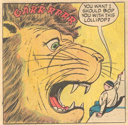 In Forbidden Worlds #110 , Herbie first uses his most famous catchphrase.