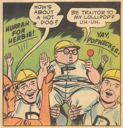 Herbie is loyal to lollipops.