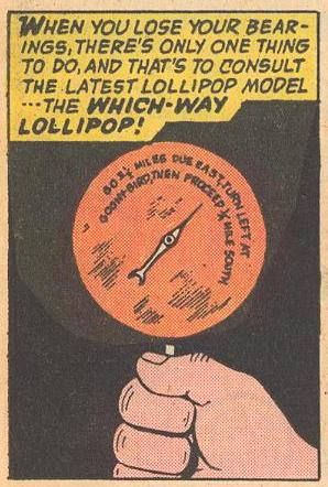 We see a lollipop navigation system...