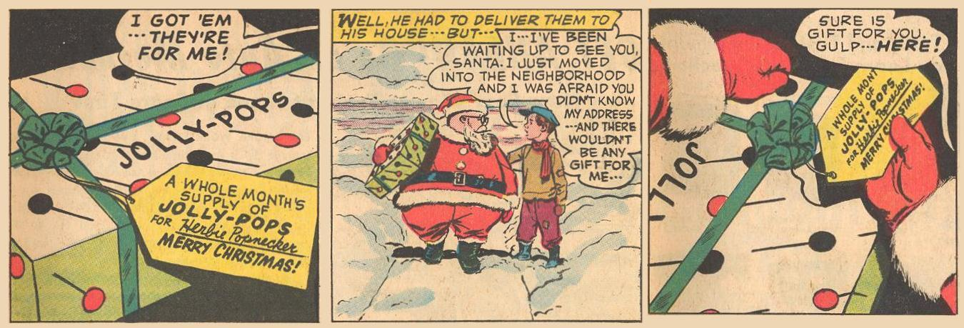 In the end, Herbie gets his wish but gives it to a little boy .
