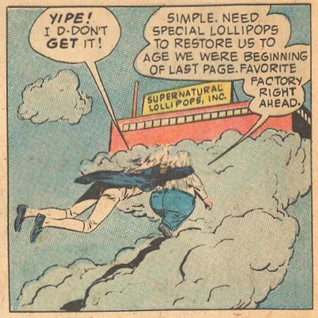 Herbie visits his favorite lollipop factory, Supernatural Lollipops, Inc...