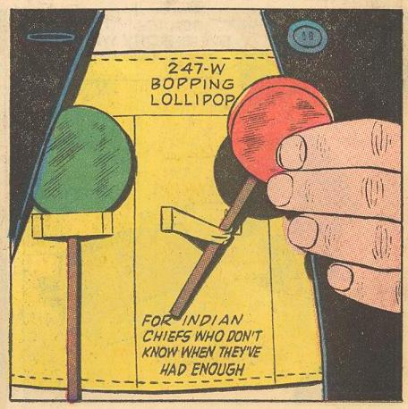 Herbie's lollipop belt is VERY specific...