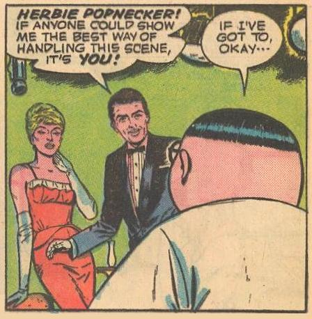 Herbie is the one actors look to for romantic acting advice.