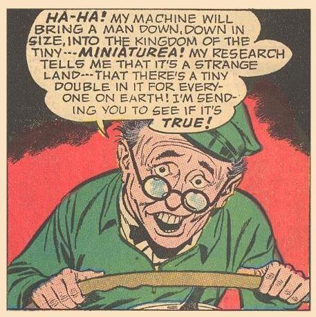 We meet Professor Flipdome, Herbie's eccentric neighbor.