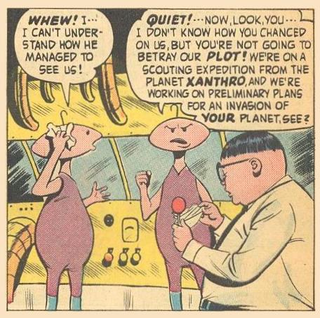 Planet Xanthro is so old-school, so serious.