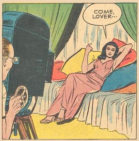 """Elizabeth Taylor beckons """"Come, lover..."""""""