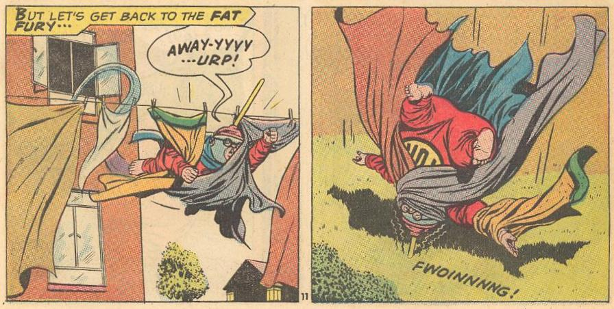 Second appearance of the Fat Fury in #10a .