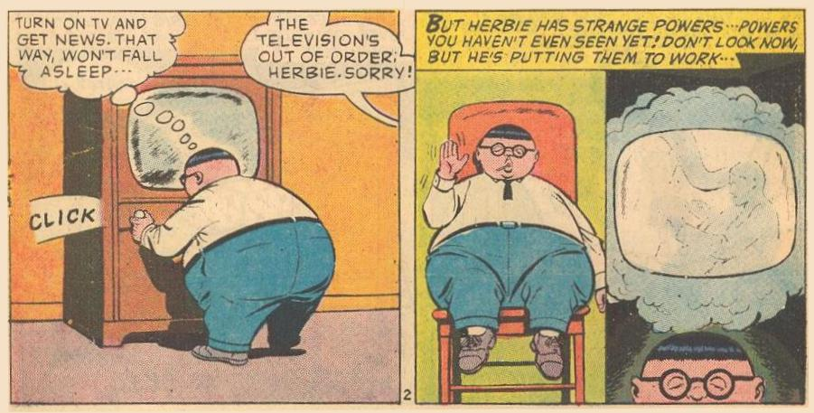 Mental Television : Herbie has strange powers...powers you haven't even seen yet!