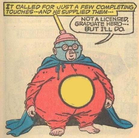 Herbie's costume hero persona is known as...