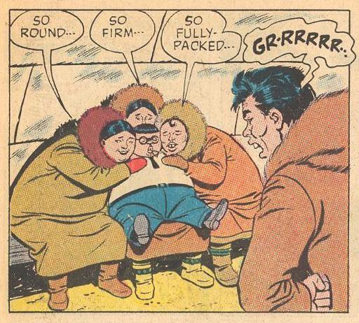 A man is jealous of Herbie as women swoon .