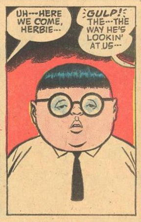 Herbie's eyes .