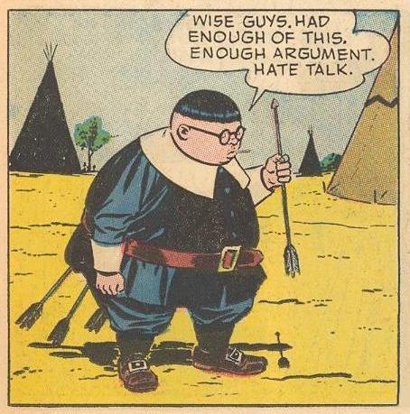 Hate talk.
