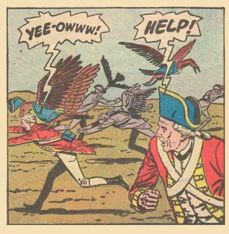 Villains: YEE-OWWW!
