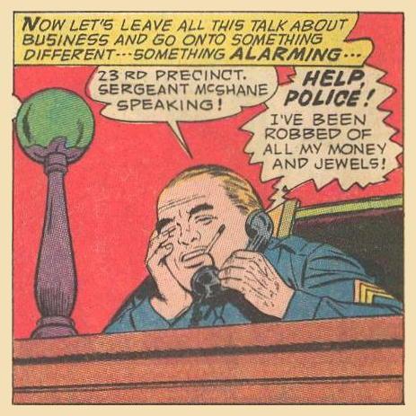 Pseudo Example : Caller: HELP, POLICE!