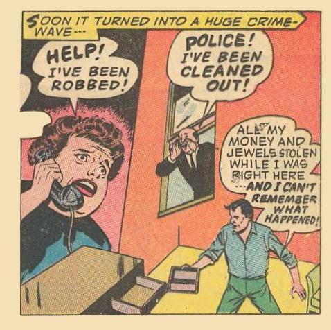 Pseudo Example : Woman: HELP!