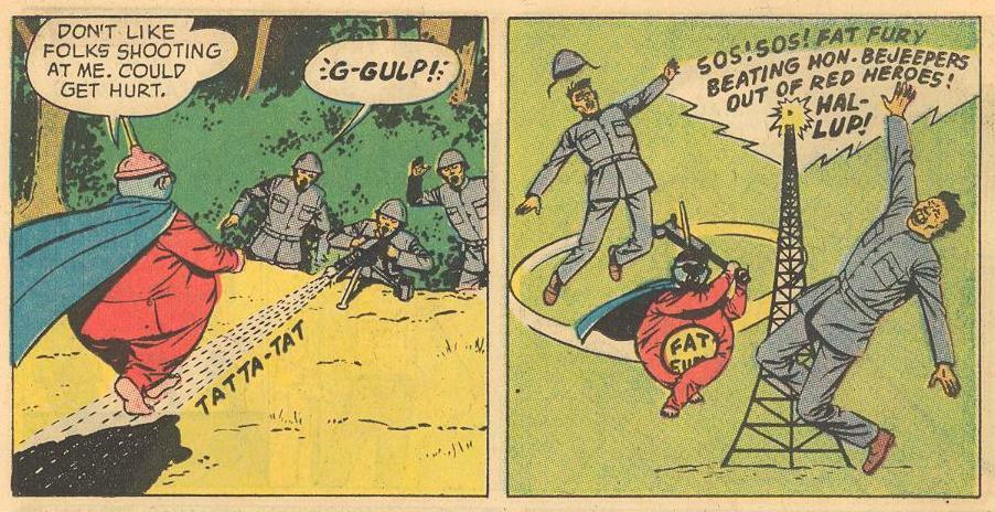 """Villains: """"G-GULP!"""" SOS!"""