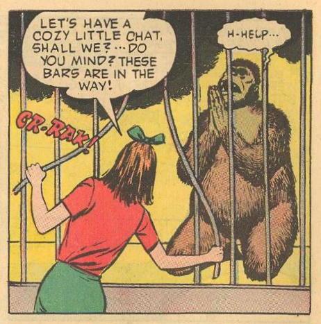Gilmartin is scared to prayer of Hepzibah Higgins.