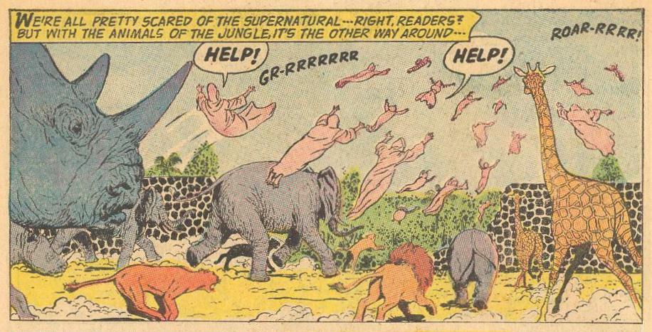 Villains: Sprits are afraid of animals.
